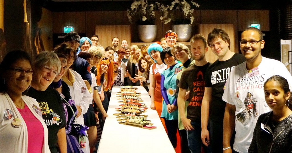 sushi workhsop animecon 2015